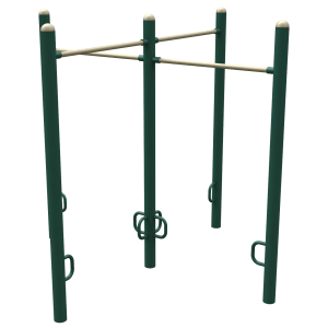 Military 4-Person Pull-Up Station