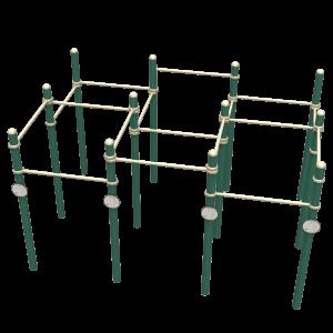 Multi-Level Fitness Rack