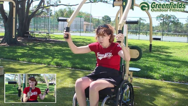 Signature Accessible Series Greenfields Outdoor Fitness
