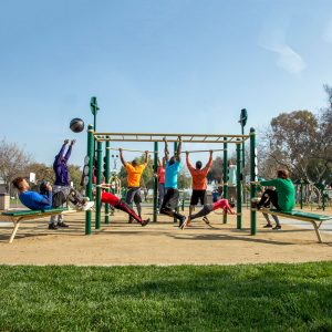 13-Person Cross Fitness Rig