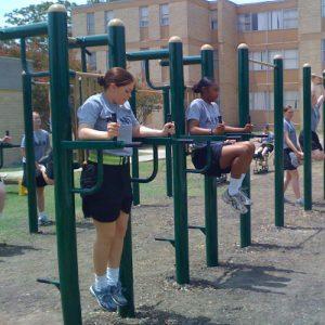 Military Full Bar Exercise