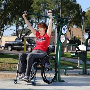 NEW! Accessible Shoulder Press (Adjustable Resistance)