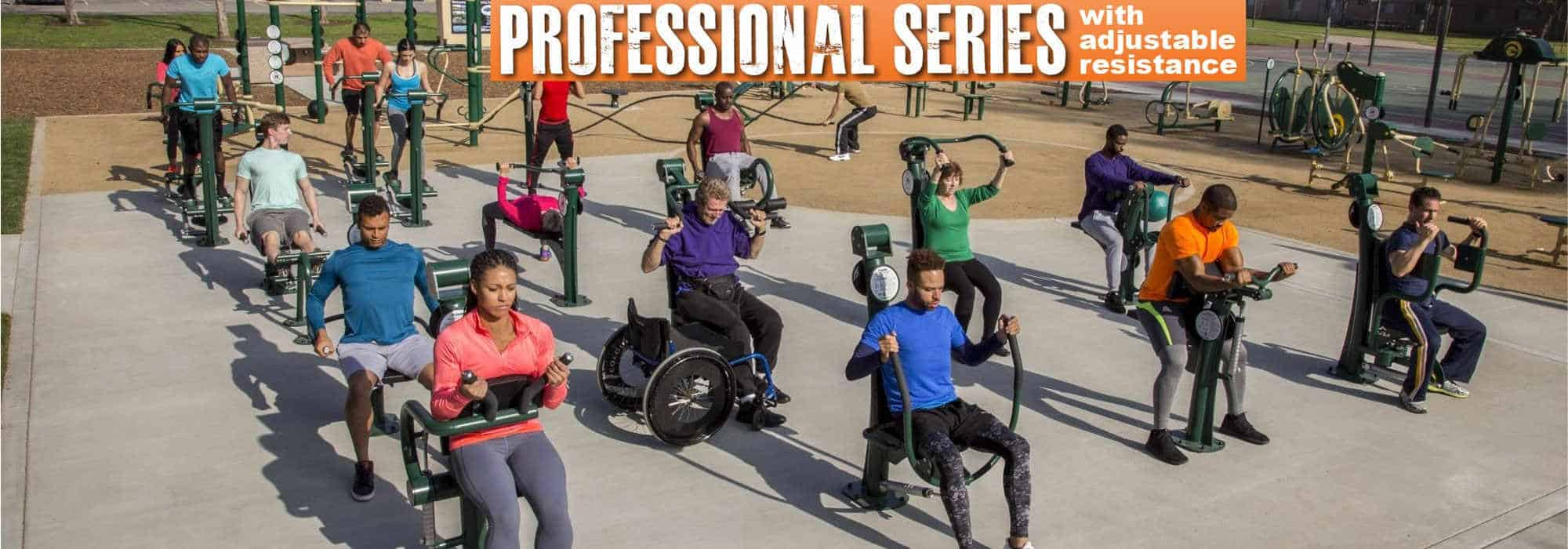 professional series fitness equipment