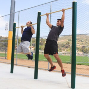 Military Double Pull-Up Bar