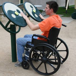 Accessible Tai-Chi Spinners