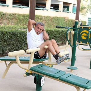 2-Person Sit-Up Bench