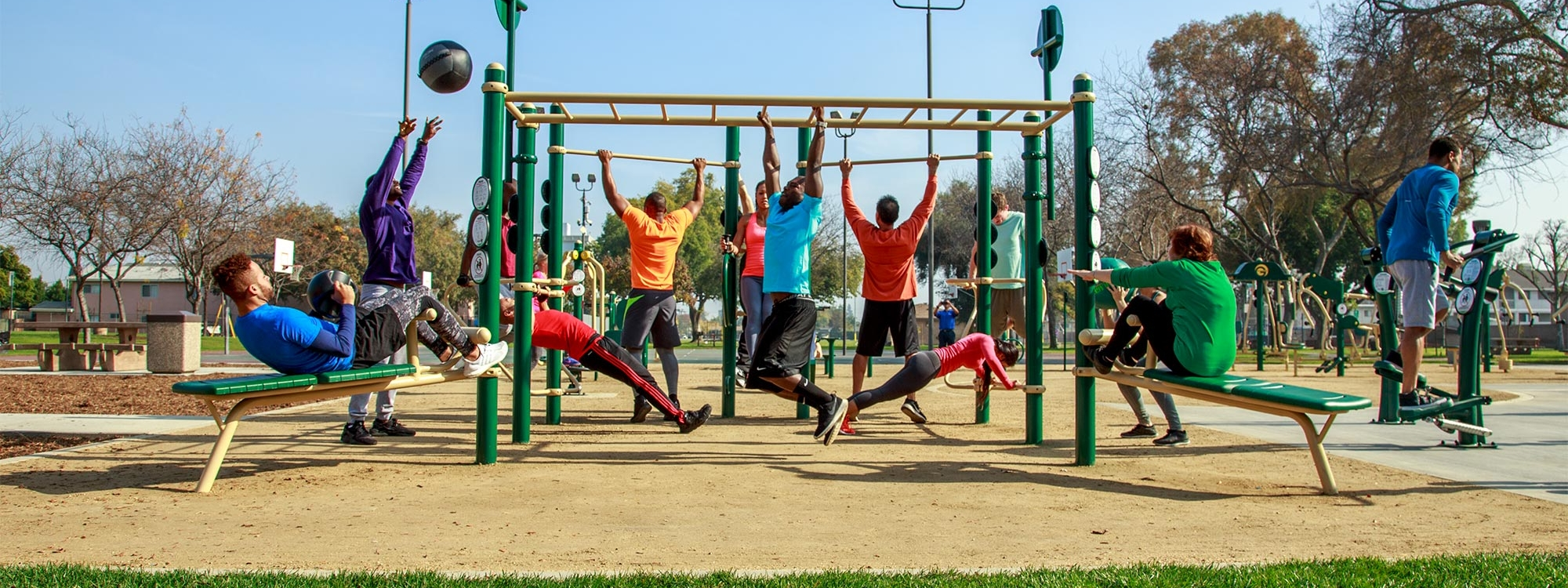 Greenfields Outdoor Fitness Equipment
